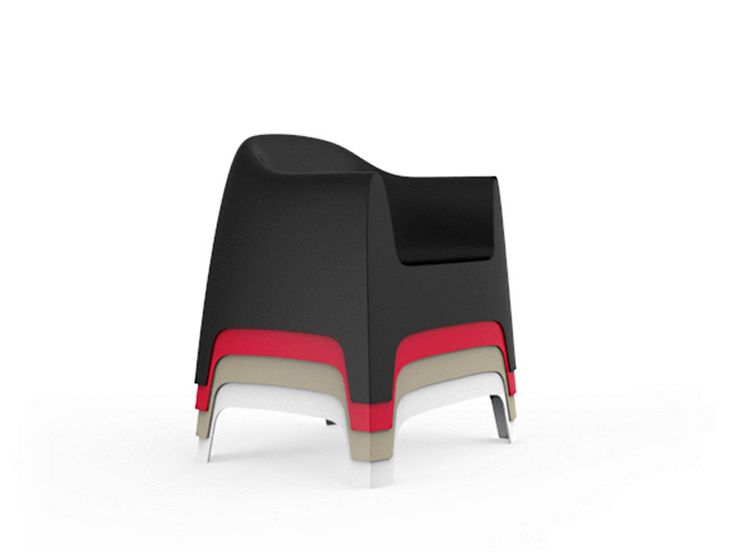 Fabulous Vondom stapelbarer Lounge Sessel Solid kaufen im borono Online Shop