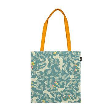 Jungle Blossom Tote Bag