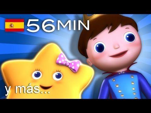 Estrellita, ¿dónde estás?   Y muchas más canciones infantiles   ¡56 min de LittleBabyBum! - YouTube