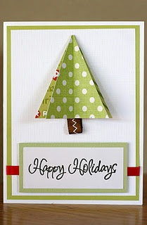 DIY | Christmas Card Tutorials | What a great way to use up your extra scrapbook paper and create one-of-a-kind cards. You could even use these ideas to make xmas ornaments.