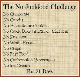 How to be Awesome at Everything: The No Junk Food Challenge