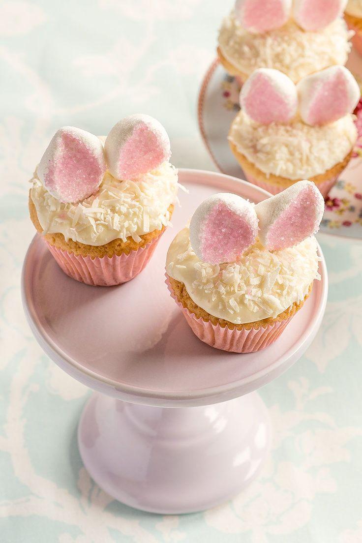 Prepara los cupcakes más originales esta Pascua. - cupcakes para Pascua - easter cupcakes - decoración de cupcakes para la Pascua - #cupcakes #easterbunny