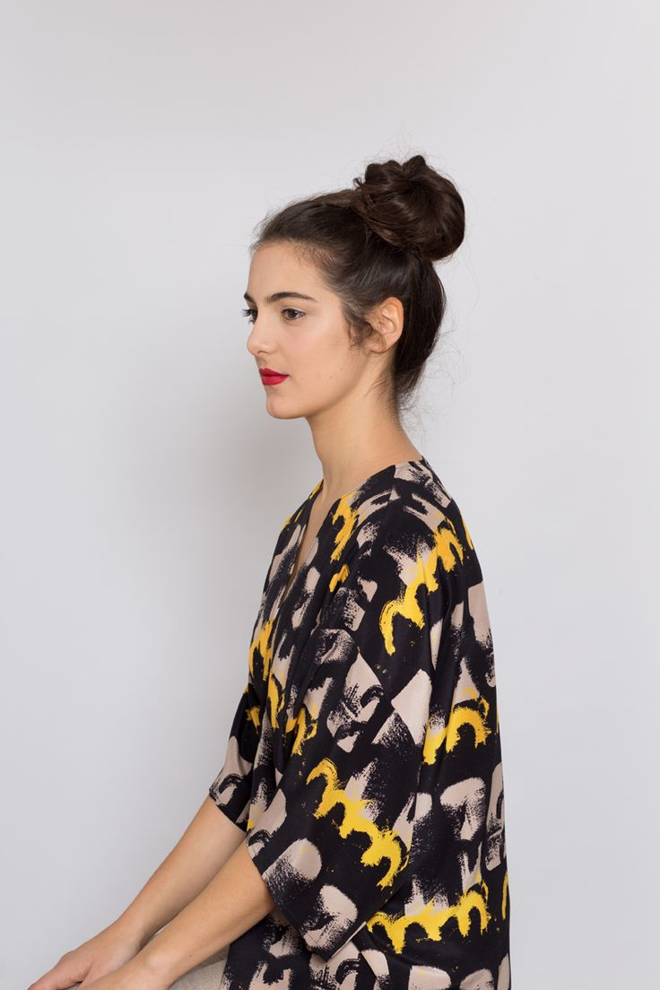 AH/OK Goro - Silk Kimono