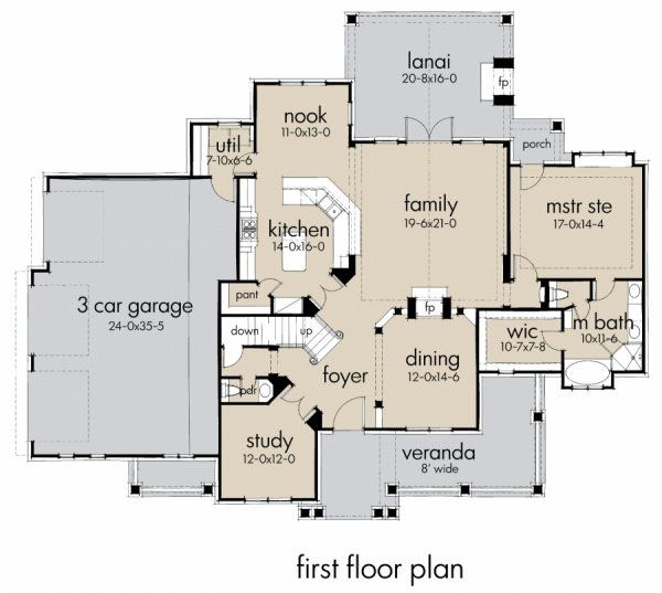 Plan No.645752 House Plans by WestHomePlanners.com