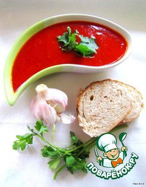 Острый томатно-чесночный соус