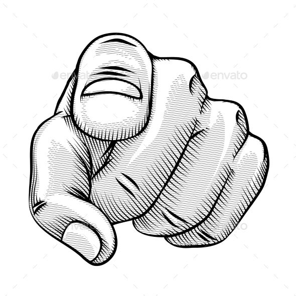 retro line drawing of a pointing finger pointing fingers how to draw fingers pointing hand retro line drawing of a pointing finger