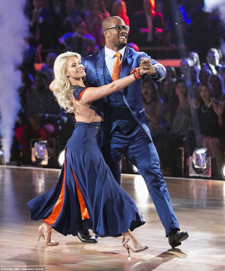 Compensating well: Before the dance, Witney admitted the height difference was a concern, saying: 'When we stand next to each other I look like his child'