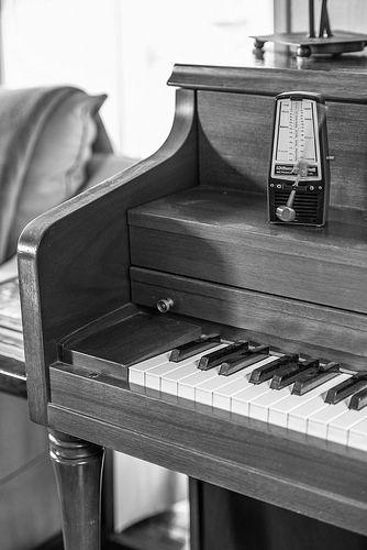 Mer Lavande - Piano dans le salon