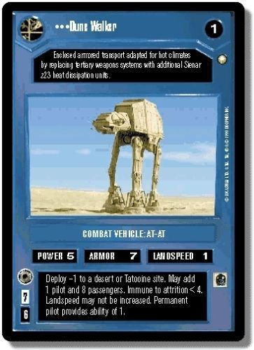 Vehicles from the Star Wars CCG sets by diewannawanga @eBay