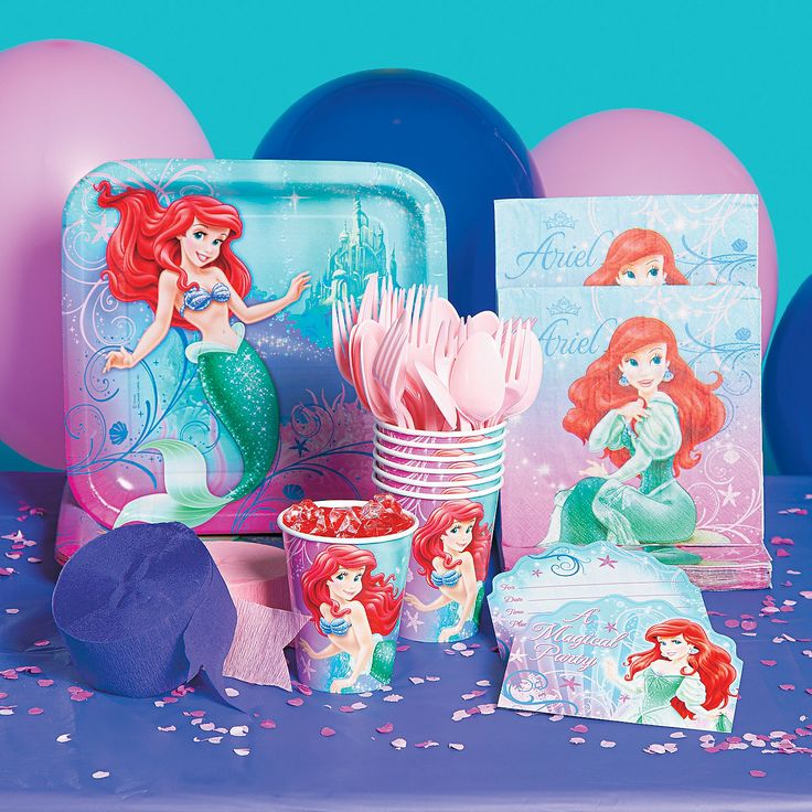 http://www.orientaltrading.com/little-mermaid-party-supplies-a2-13635110.fltr?Ntt=mermaid  Little+Mermaid+Party+Supplies+-+OrientalTrading.com