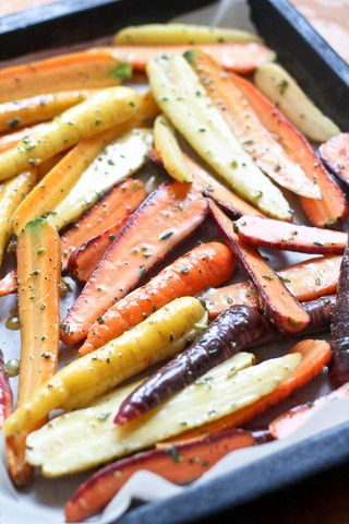 Honey Mustard Glazed Organic Carrots - Sweet Ollin Farms organic carrots glazed with our spicy housemade white wine mustard (mustard, organic apple cider vinegar, white wine, Eldorado Springs water, Real sea salt), Ambrosia unfiltered Western Slope honey, olive oil, and Real sea salt.