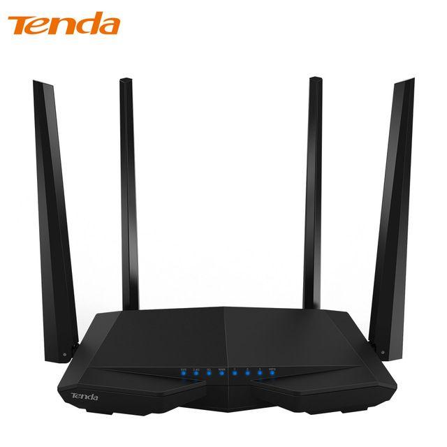 US $ 27.22  / piece  -22% Tenda AC6 Wireless WiFi Router, 1200Mbps 11AC Dual Band WiFi Repeater 802.11ac WPS WDS App Control PPPoE, L2TP EU/US/RU Firmware