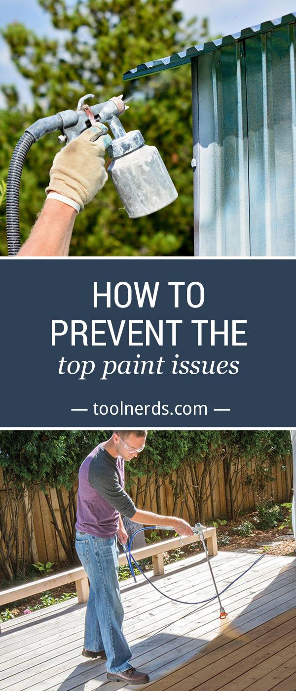 In a test to see which product can produce the best coat, paint sprayers beat brushes and rollers hands down. But this doesn't mean you're out of the woods when it comes to common paint issues.