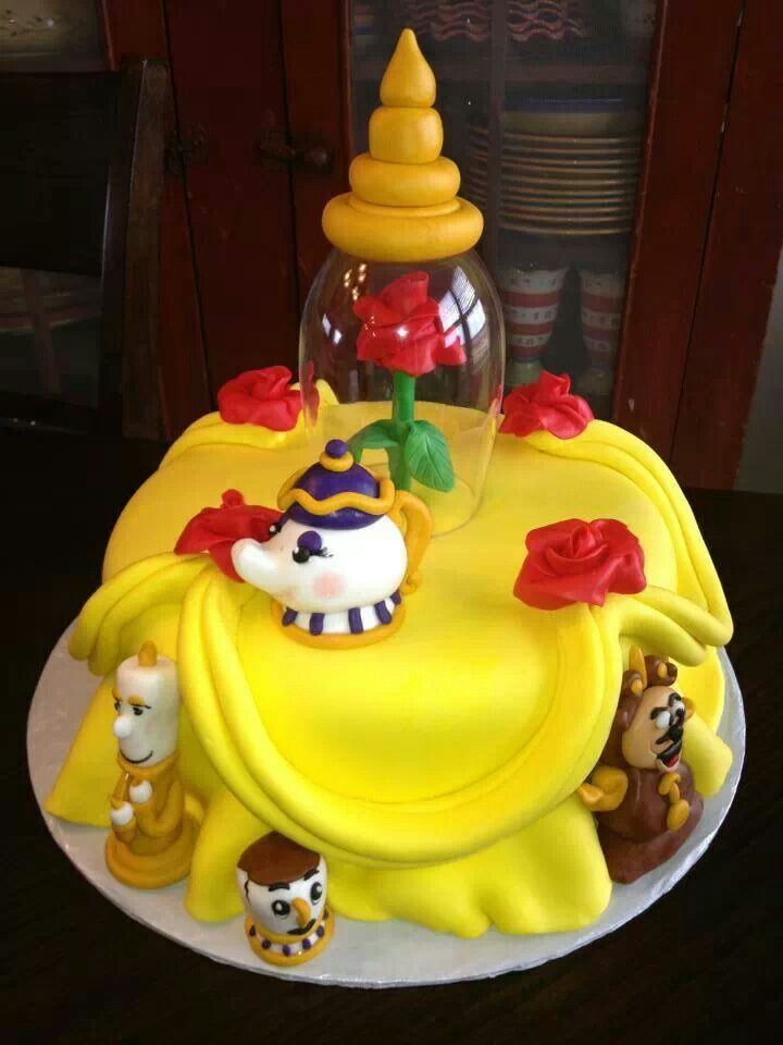173 Best Images About Cakes Beauty And The Beast On