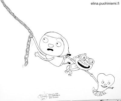 Palasia sateenkaaresta: Let Go Or Be Dragged V (Drawing Practice)