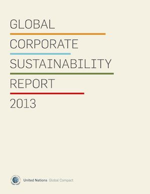 Global Corporate Sustainability Report 2013