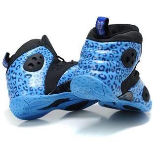 www.asneakers4u.com Nike Zoom Rookie LWP Penny Hardaway Shoes Blue/Black