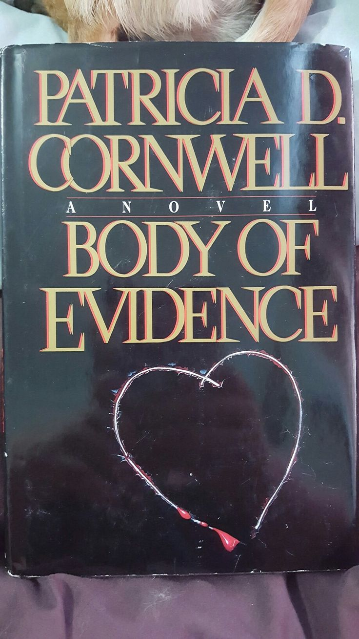 Patricia D Cornwell; Body Of Evidence Hardcover, Used