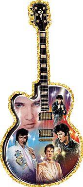 Elvis guitar .