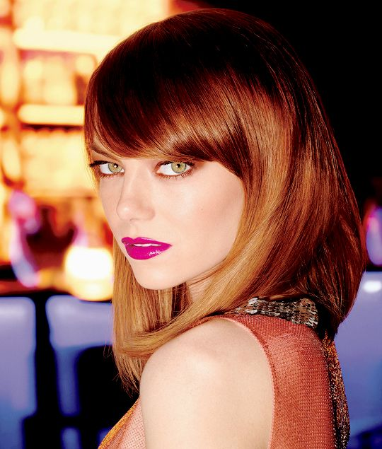 Emma Stone for Revlon 'Love is on'