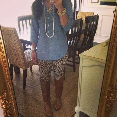 Our Fifth House: What's On My Mind This Friday - leopard skinny cords