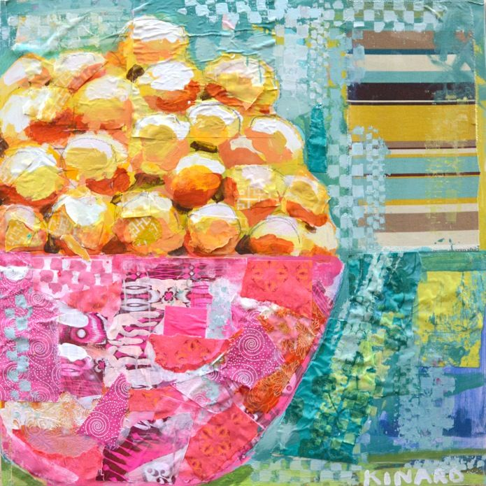 """""""Lemons with Love"""" by Christy Kinard  The artist will be visiting our Charleston gallery tomorrow from 6-8pm!"""