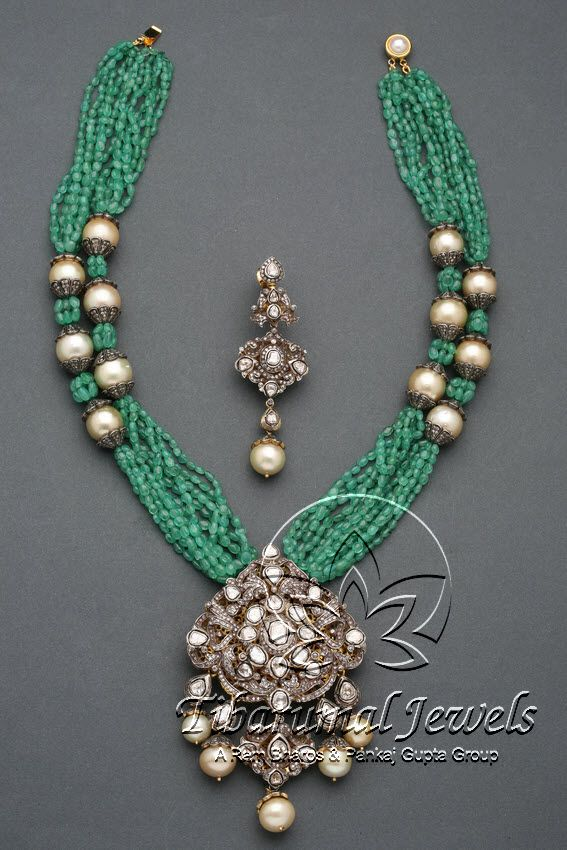 Victorian Necklace Set | Tibarumal Jewels | Jewellers of Gems, Pearls, Diamonds, and Precious Stones