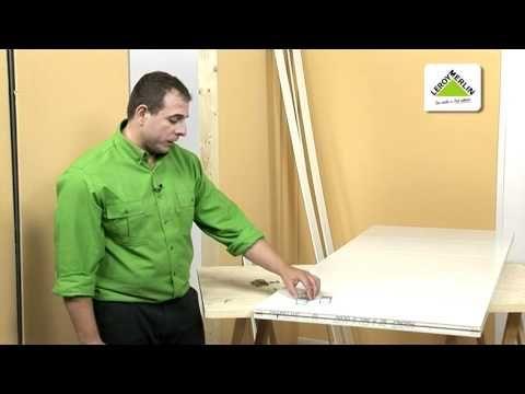 Instalar una puerta corredera encastrable (Leroy Merlin) - YouTube