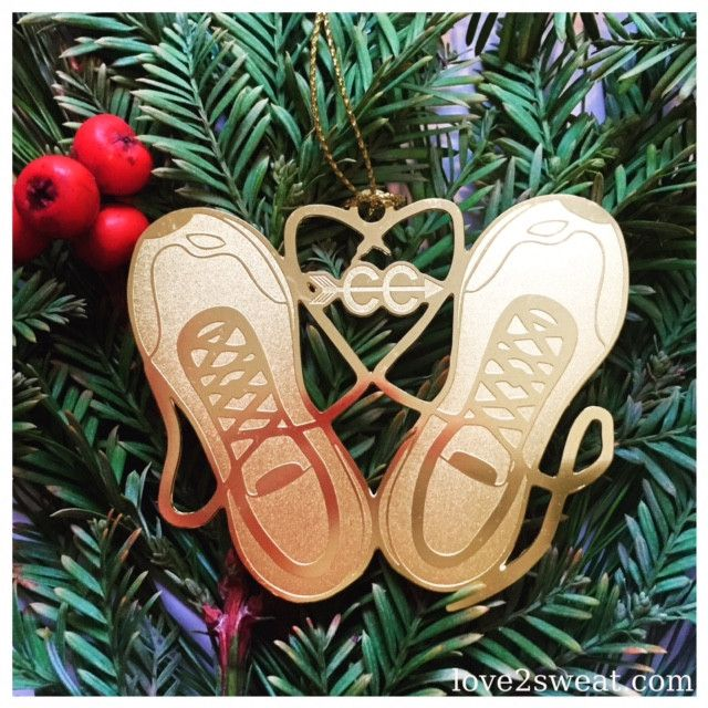 Cross Country Running Ornament