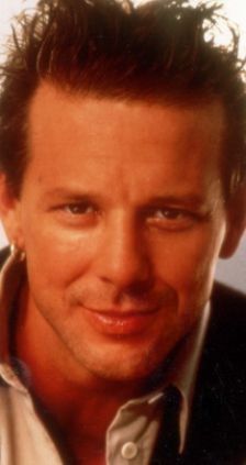 Mickey Rourke...my vanilla flavor before all the bad plastic surgery!