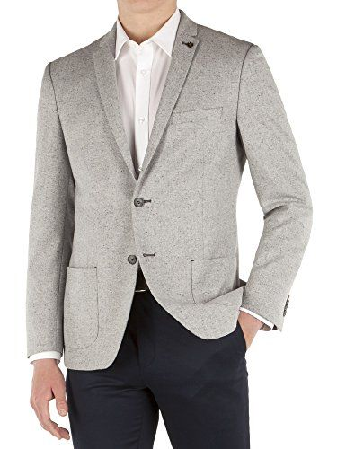 390 kr. Suit Direct Limehaus Grey Speckle Slim Fit Formal Jacket - LH200109 Slim Fit Formal Jacket Grey 34R Limehaus http://www.amazon.co.uk/dp/B00UX0E8SW/ref=cm_sw_r_pi_dp_RSA3wb1B6SVEC