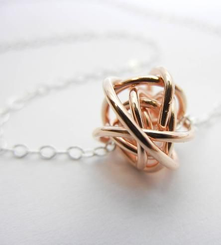 Love Knot Necklace by Natasha Grasso