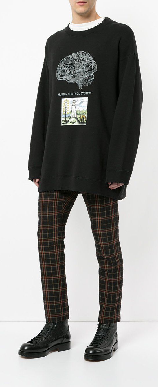 Undercover Human Control System Sweatshirt