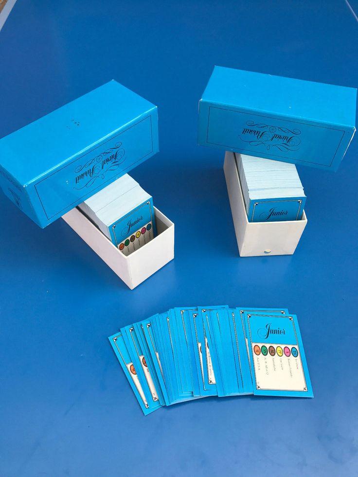 TRIVIAL PURSUIT Lot de 600 Cartes Jeu Edition Junior Questions Recharge !FR N°1 | Jouets et jeux, Jeux de société, Jeux de société, traditionnels | eBay!