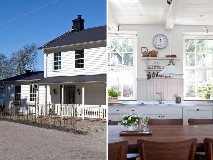 Platsbyggda lösningar, gedigna material, ljus och rymd präglar Pelles och Mariannes nybyggda hus