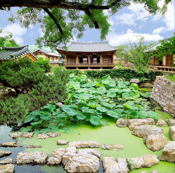 Seoseokji Garden in Yeongyang, Korea