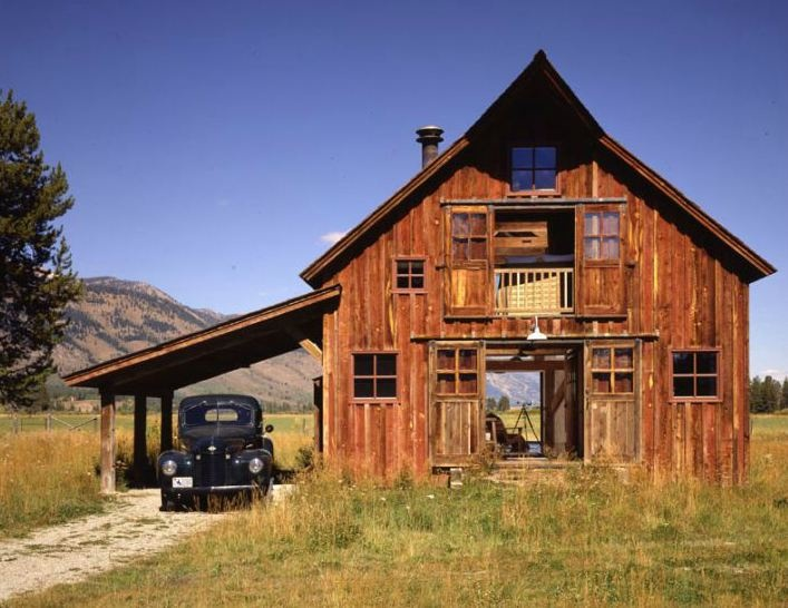 160 best cabins and cottages images on pinterest log for Country barn builders