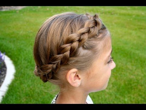 The Crown {Carousel} Braid | Updos | Cute Girls Hairstyles - I may try this on Emily for church on Sunday. Could be cute.. not sure if her hair is long enough for it to work well.