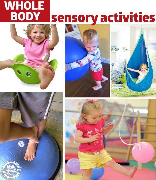 actividades sensoriales para la conciencia de todo el cuerpo