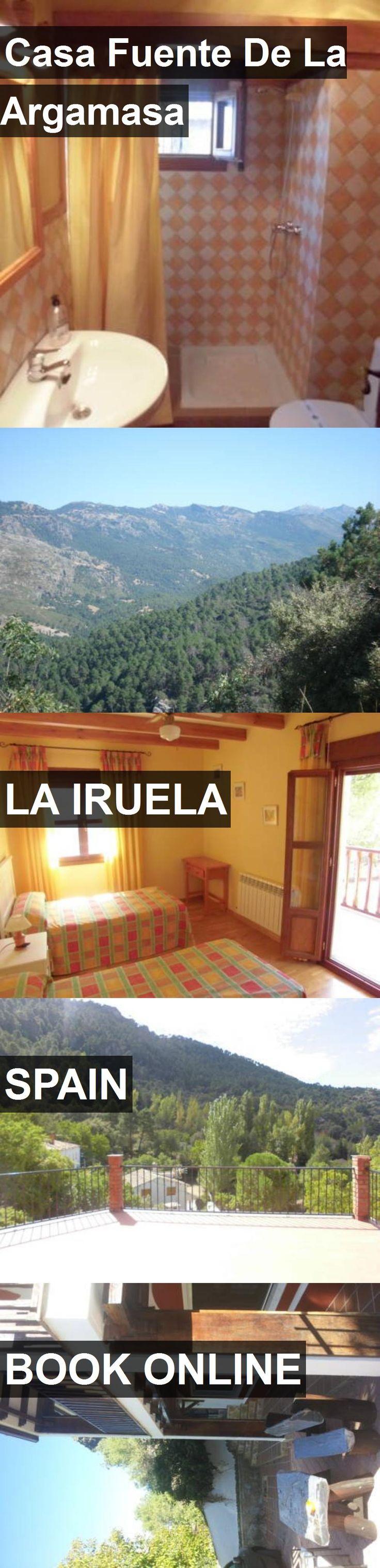 Hotel Casa Fuente De La Argamasa in La Iruela, Spain. For more information, photos, reviews and best prices please follow the link. #Spain #LaIruela #travel #vacation #hotel