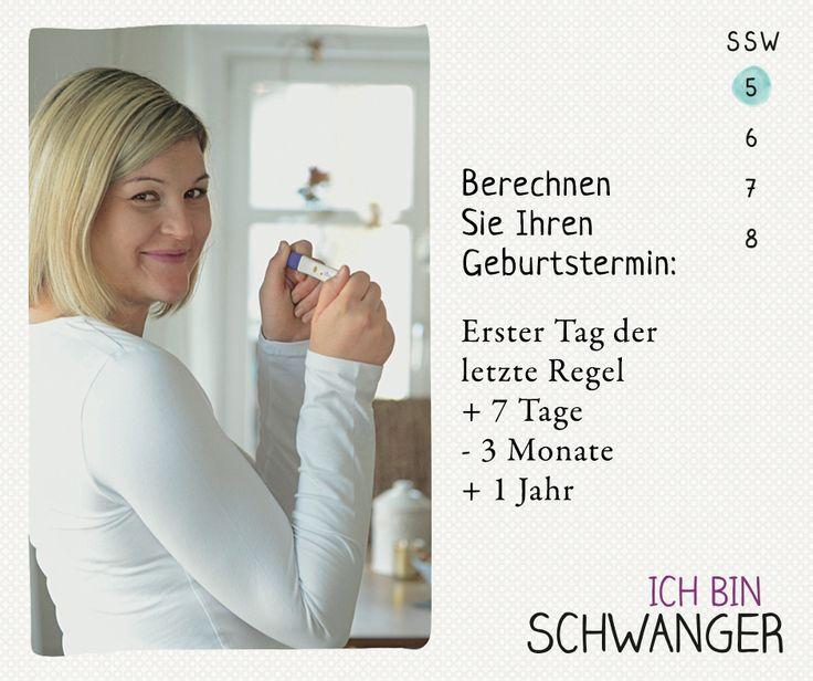 """Frauen mit einem regelmäßigen Menstruationszyklus von 28 Tagen können ihren Geburtstermin nach der sogenannten Naegele-Regel berechnen. Aus unserem Buch """"Ich bin schwanger"""", TRIAS Verlag. ©Tina Steinauer, Sternenberg/Zürich"""
