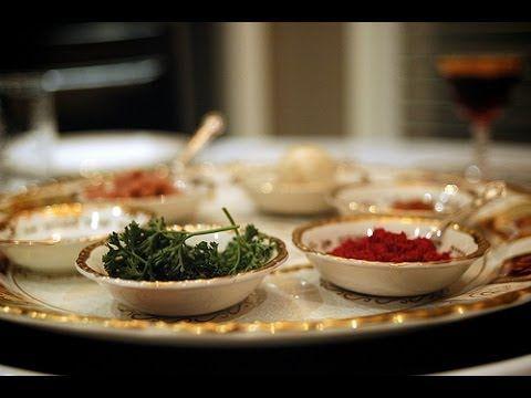 Idées de menus, recettes pour Pessah, Pâque Juive, liens vers les recettes en résumé de la vidéo