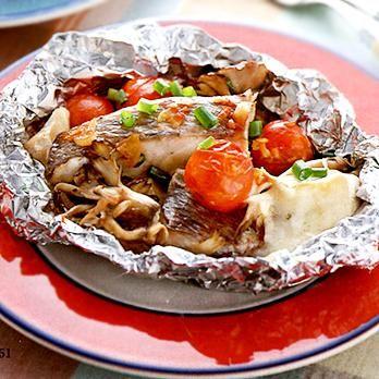 白身魚のホイル焼き | 中島有香さんのホイル焼きの料理レシピ | プロの簡単料理レシピはレタスクラブニュース