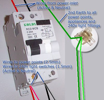 how to wiring a residential 240v circuit australia - Google Search