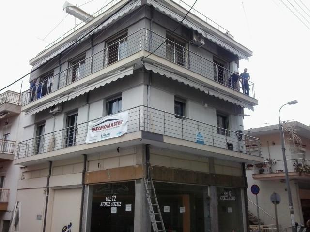 Θερμοπρόσοψη με το σύστημα Thermomaster σε πολυκατοικία στις Συκιές Θεσσαλονίκης