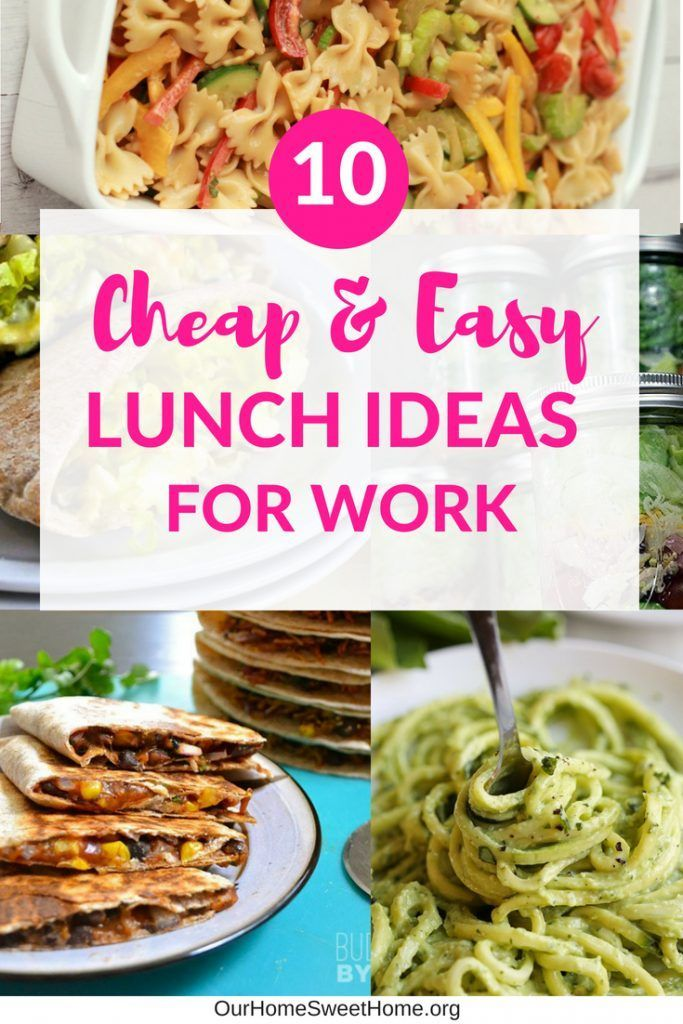 10 Cheap Lunch Ideas For Work Easy Recipes To Make Cheap