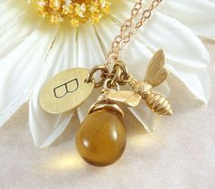 From Etsy https://www.etsy.com/listing/211834238/bee-necklace-bee-jewelry-bumble-bee-bee