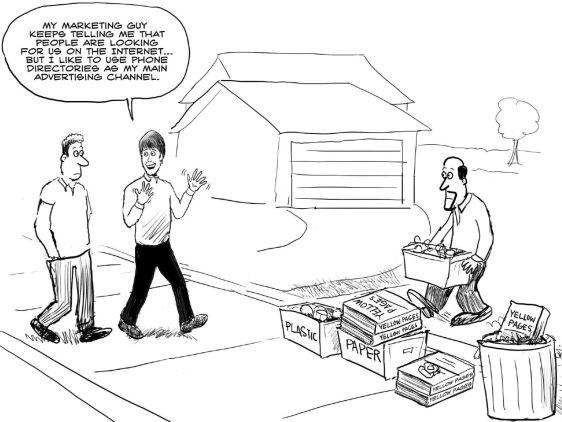 #inboundmarketing vs old school  #contentmarketing #exploreb2b
