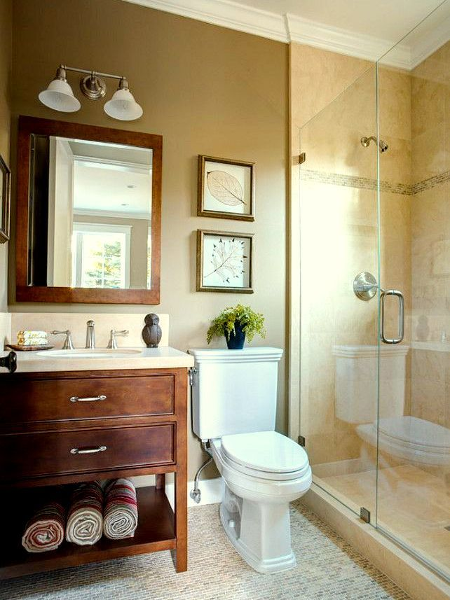 Gorgeous small bathroom renovation ideas bathroom ideas Cuartos de bano pinterest