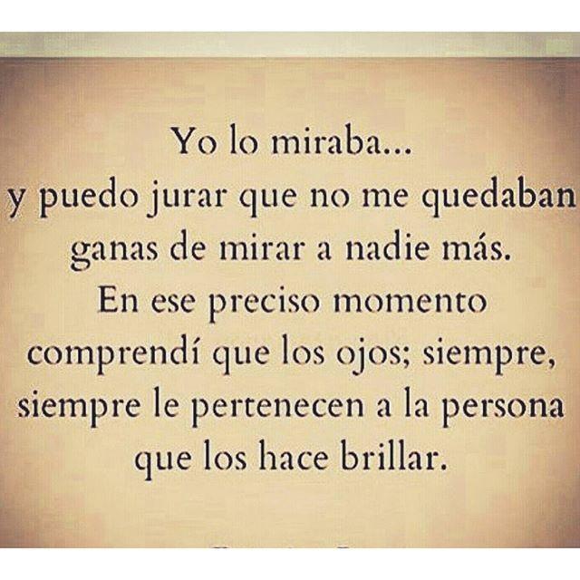 """""""Tal vez yo no sepa un ir Donde. Pero Si Pudiera Una mañana para abrir los ojos y ver los tuyos, Sabria Donde Quedarme.""""  #poetisaloca #irelaperea"""